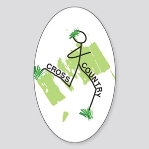 Cute Cross Country Runner Sticker